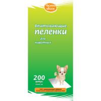 Впитывающие пеленки Чистый хвост для собак 33x45