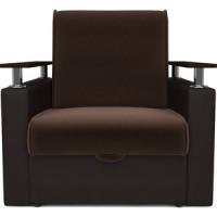 Кресло кровать Mebel Ars Шарм шоколад ППУ