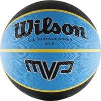 Мяч баскетбольный Wilson MVP Traditional, р.5, сине