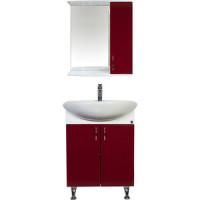 Мебель для ванной комнаты Orange Роса 50 бордовая