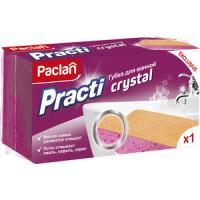 Губка Paclan Practi Crystal для ванной,