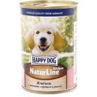 Консервы Happy Dog Natur Line Welpen ягненок