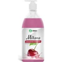 Жидкое крем мыло GRASS ''Milana'' спелая черешня,