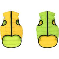 Курточка CoLLaR AiryVest двухсторонняя салатово желтая размер