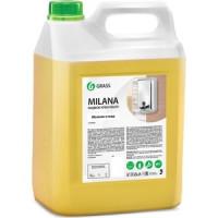 Жидкое крем мыло GRASS ''Milana'' молоко