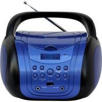 Аудиомагнитола TELEFUNKEN TF CSRP3499B синий/черный