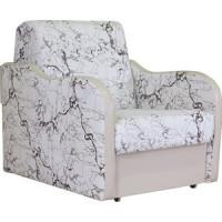 Кресло кровать Шарм Дизайн Коломбо замша белый
