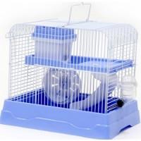 Клетка N1 30х23х25,7см прямоугольная, укомплектованная, голубая