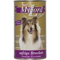Консервы Dr.ALDER's MyLord Classic Softige Brocken сочные кусочкис