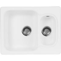 Кухонная мойка AquaGranitEx M 09 (331) белый