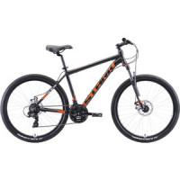 Велосипед Stark Indy 26.2 D (2020) чёрный/оранжевый/белый 18''