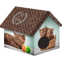Домик PerseiLine Дизайн Шоколадные котята для кошек