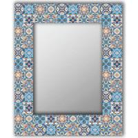 Настенное зеркало Дом Корлеоне Мексиканская плитка 90x90