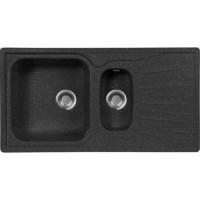 Кухонная мойка AquaGranitEx M 09K (308) черный