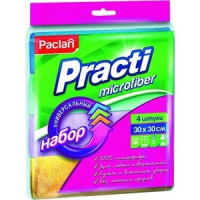 Салфетка Paclan универсальная 30х30 см, 4 шт