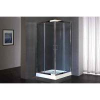 Душевой угололок Royal Bath HP 90x90 прозрачный, хром