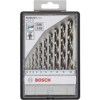 Набор сверл по металлу Bosch 1.0 10.0мм