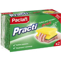 Губка Paclan Practi Profi для посуды,