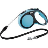 Рулетка Flexi New Comfort M трос 5м синяя