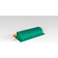Тоннель дренажный ЭкоПром ''Rostok'' зеленый (410х840х1800 мм)(632.0001.401.0)