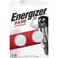 Батарейка ENERGIZER Lithium CR2430 (2 шт) 3V