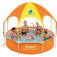 Каркасный бассейн Bestway 56432 с навесом 244х51