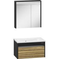 Мебель для ванной Edelform Карино 80 черный