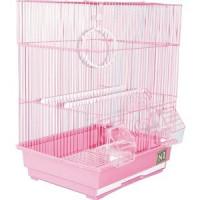 Клетка N1 35х28х46см прямоугольная, укомплектованная для птиц