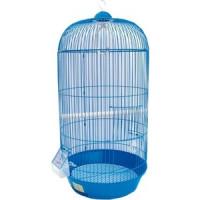 Клетка N1 33х67см круглая, высокая, укомплектованная для птиц
