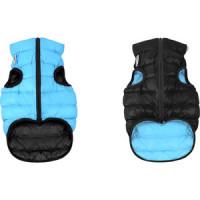 Курточка CoLLaR AiryVest двухсторонняя черно голубая размер