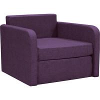 Кресло кровать Шарм Дизайн Бит фиолетовый