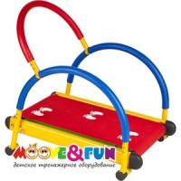 Тренажер детский Moove&Fun механический ''Беговая дорожка''