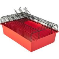 Клетка N1 37х26х23см с этажом для грызунов