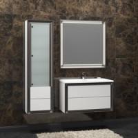 Мебель для ванной Opadiris Капри 80 белый глянцевый/нагал