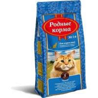 Сухой корм Родные Корма Курица 30/14 для взрослых