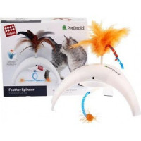 Игрушка GiGwi PetDroid Feathe Spinner интерактивная