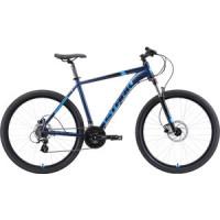 Велосипед Stark Router 27.3 HD (2019) голубой/черный 18''