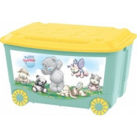 Ящик для игрушек Бытпласт на колесах