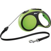Рулетка Flexi New Comfort M трос 8м зеленая