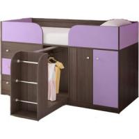 Кровать чердак Ярофф Малыш  4 бодега