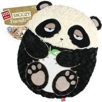 Лежанка GiGwi Snoozy Friendz Warm&Comfort панда для кошек