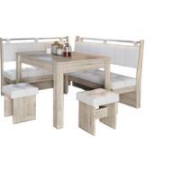 Кухонный уголок Это мебель Остин дуб белфорд/светлый
