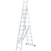Лестница трехсекционная СибрТех 10 ступеней (97820)