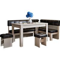 Кухонный уголок Это мебель Валенсия дуб белфорд/браун