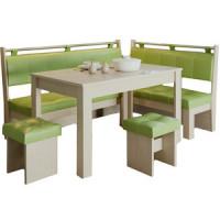 Кухонный уголок Это мебель Валенсия дуб белфорд/фисташка