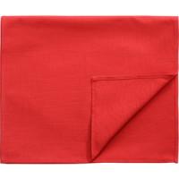 Дорожка на стол красного цвета 45х150 Tkano