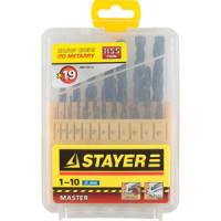 Набор сверл по металлу Stayer Master 19шт