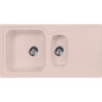 Кухонная мойка AquaGranitEx M 09K (315) розовый