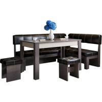 Кухонный уголок Это мебель Валенсия венге/браун