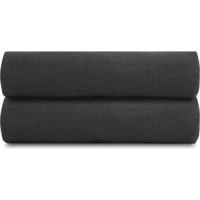 Простыня  темно серого цвета 240х270 Tkano Essential
